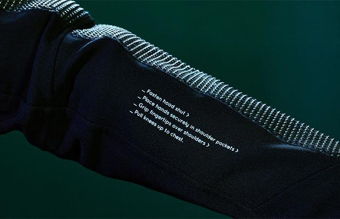 Vollebak Condition Black Jacket Instructions
