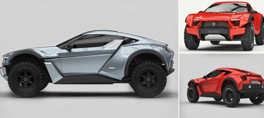 Zarooq Sand Racer | The First Car Built In The UAE