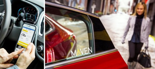 Maven | A New Car-Sharing Service | By General Motors
