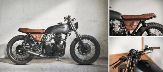 Honda cb550 Fade To Black