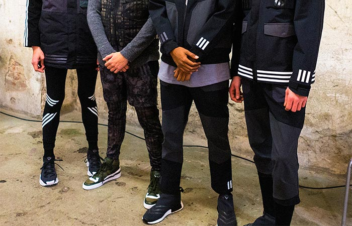 Adidas Originals By White Mountaineering FW16 At Pitti Uomo Models