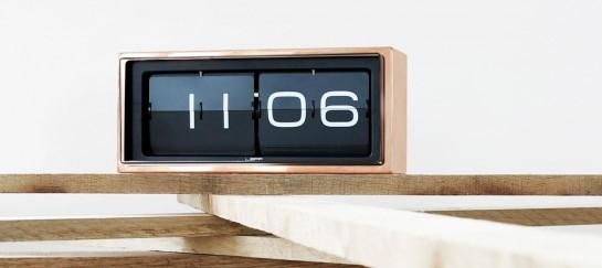 Brick Vintage Flip Clock | By Leff Amsterdam