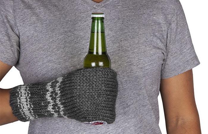 Hanskie Beer Glove Grey