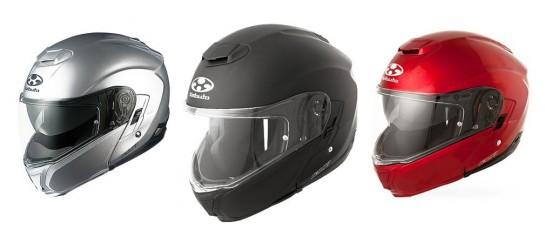 Modular Ibuki Motorcycle Helmet   By Kabuto