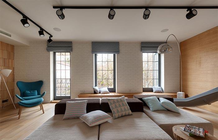 Living Room Kharkiv Apartment