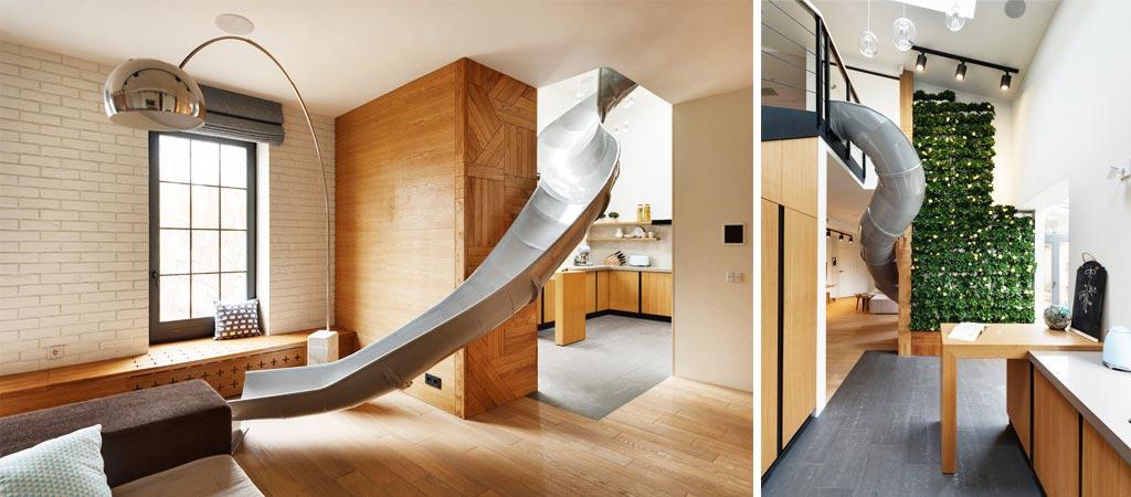 Kharkiv Slide Appartment By Ki Design Studio