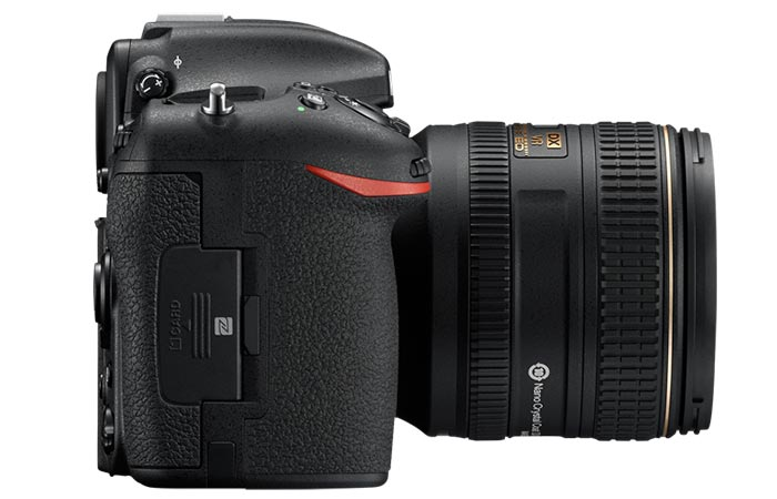 Camera captured from the side.