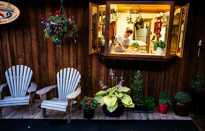 Nimmo Bay Resort Kitchen