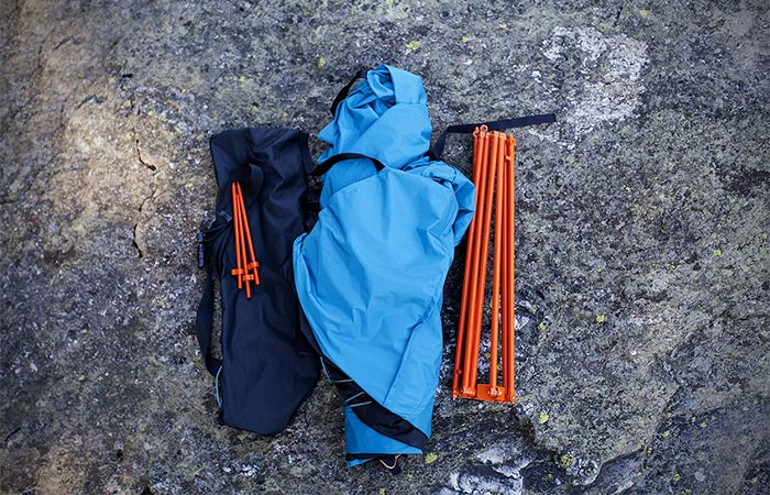 Tent Material And Poles