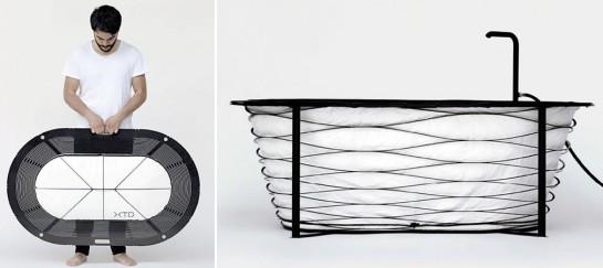 XTEND Portable Bathtub Weighs Less Than 10kg | By Carina Deuschl