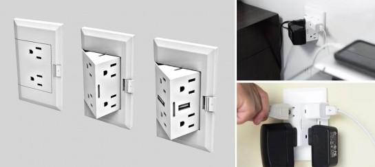 theOUTlet | A Wall Plug Innovation