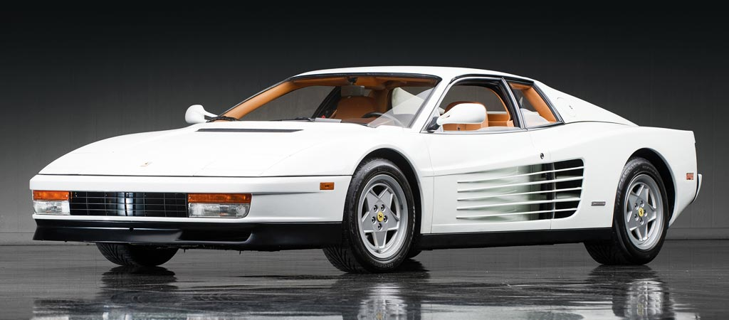 FOR SALE The Wolf Of Wall Streets Ferrari Testarossa - The wolf of wall streets ferrari is now up for sale