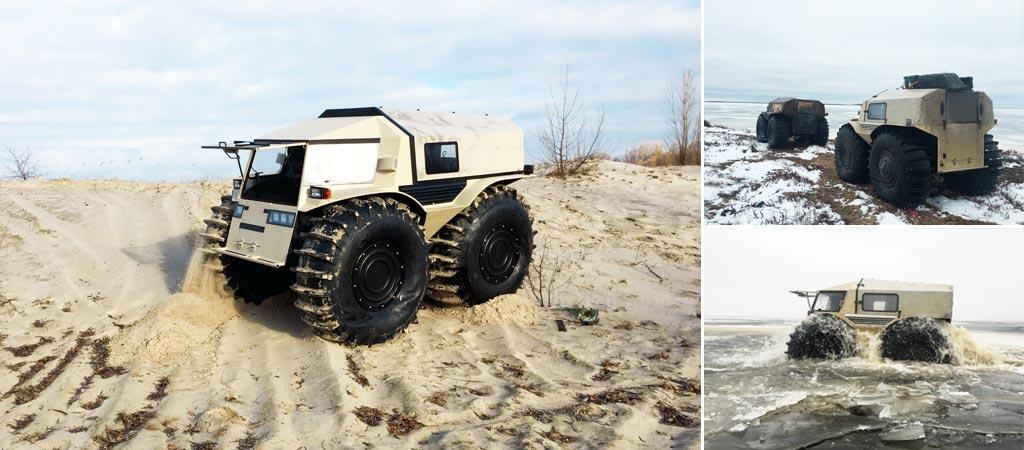2016 Tundra Diesel >> Sherp ATV | Latest Russian ATV