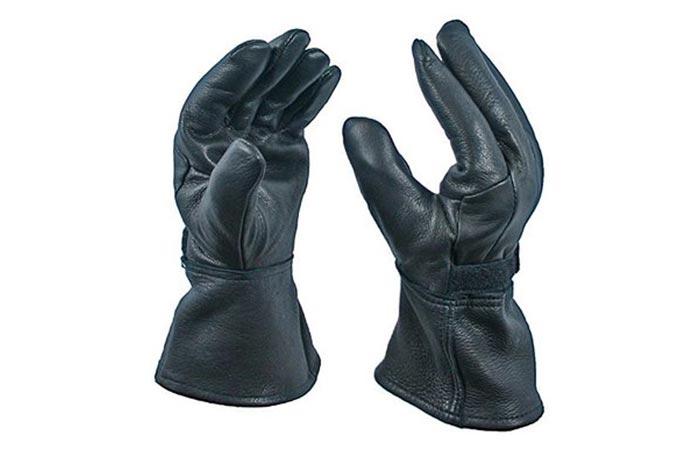 Bear Wallow Glove Company Deerskin Motorcycle Gloves