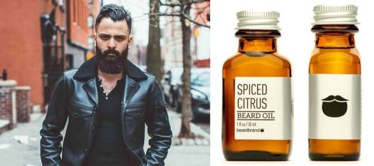 Beardbrand Spiced Citrus Beard Oil