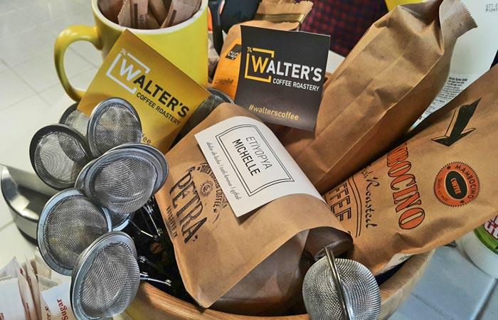 Coffee From Walter's Coffee Roastery