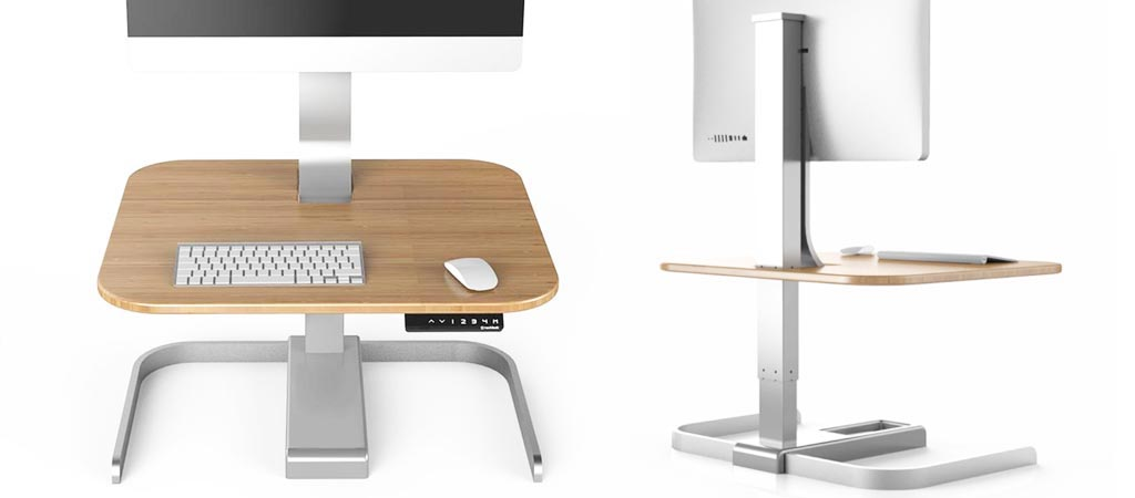 Crossover Motorized Standing Desk By Next Desks