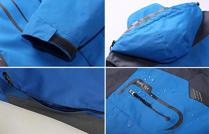 Blue Diamond Candy Men Sportswear Jacket