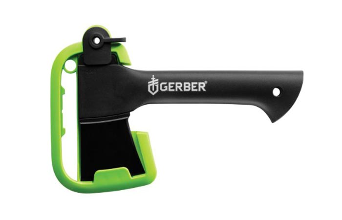 Gerber Back Paxe II High Performance Axe With A Plastic Cover