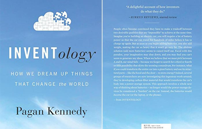 Front and back cover of the book.