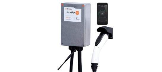 JuiceBox Pro 40A WiFi-equipped Plug-in Electric Vehicle Charger