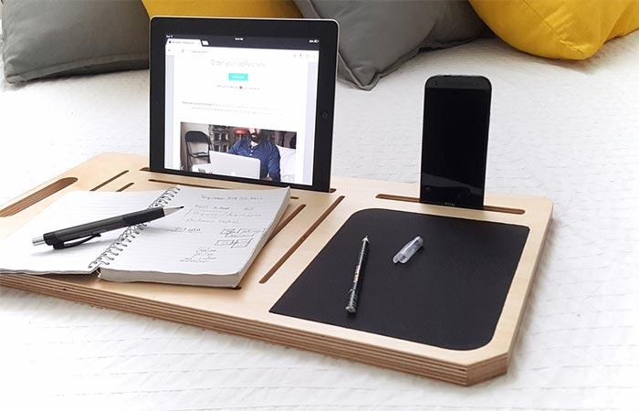 LapPad V2 Holding A Tablet