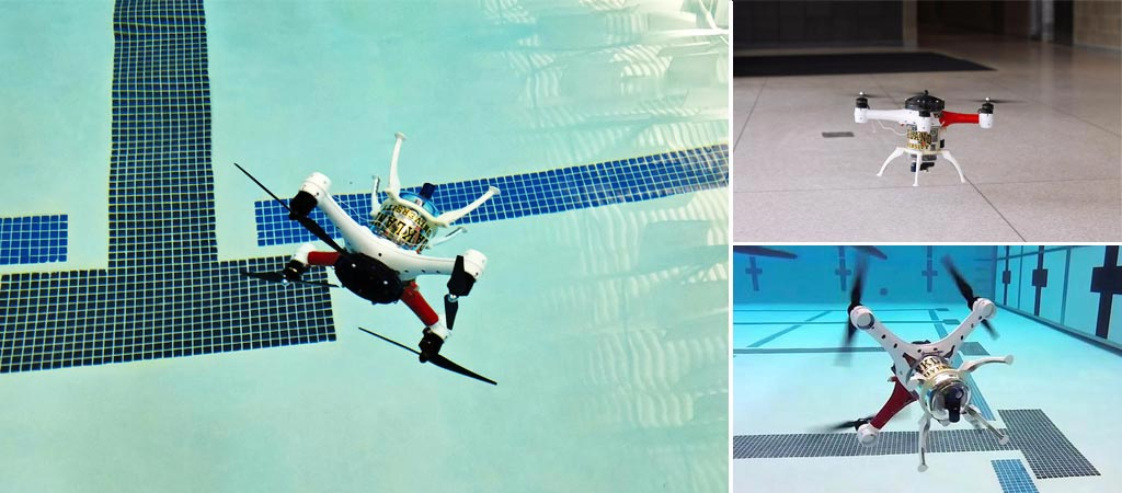 Loon Copter - Over and Under Water Drone