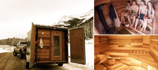 Mika Sihvo's Sauna Stoke | A Mobile Sauna