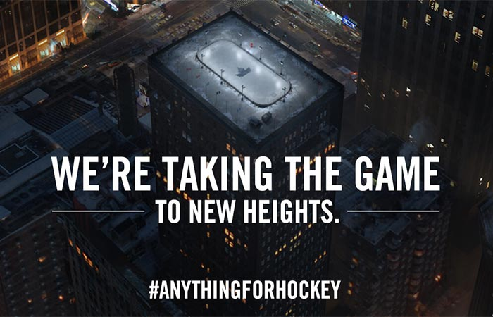 #anythingforhockey Molson Canadian