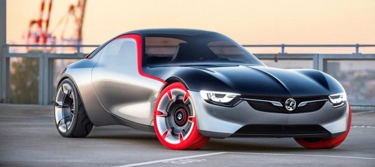 Opel GT Sports Car Concept To Be Revealed In Geneva
