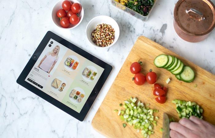 Prepd Pack Tablet App Preparing Lunch