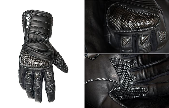 Protect the King Nomad Gauntlet Motorcycle Gloves