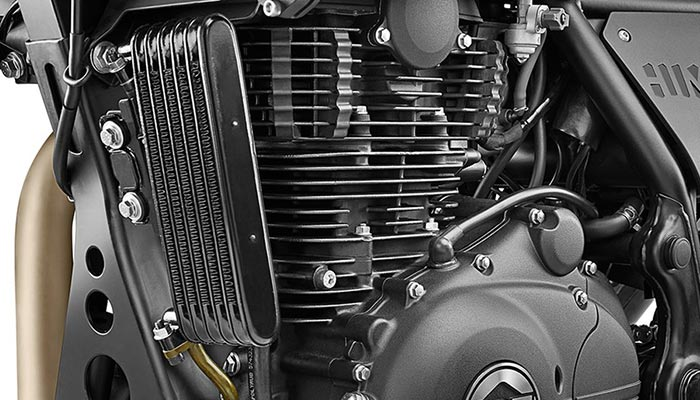 Close up photo of an engine.