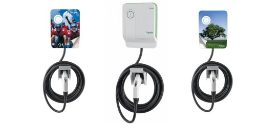 Schneider Electric EV230WS EVlink Electric Car Charging Station