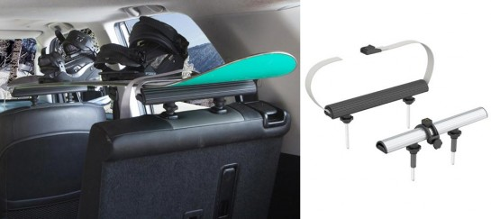 SeatRack | Car Interior Storage Rack