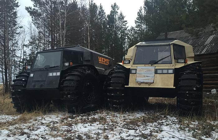 Two ATV captured from the front.
