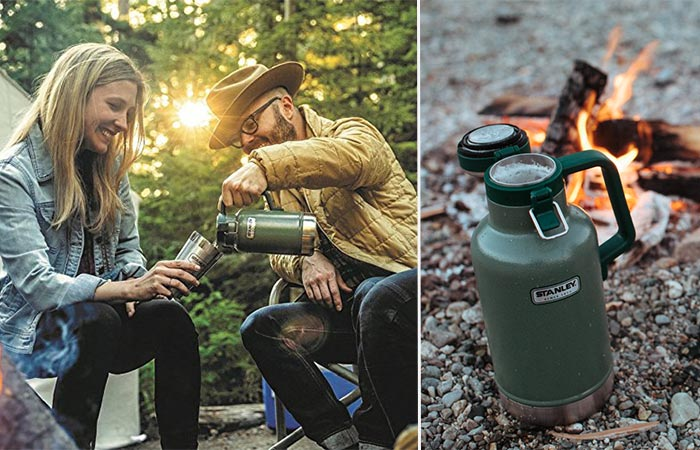 Using Stanley Insulated Growler Outside