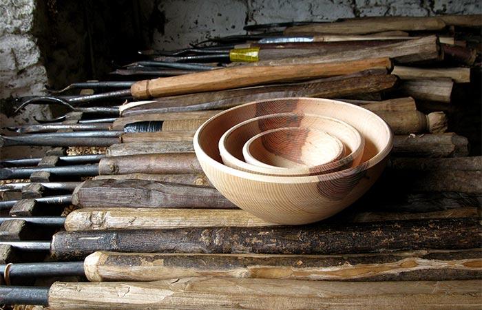 A Wooden Bowl