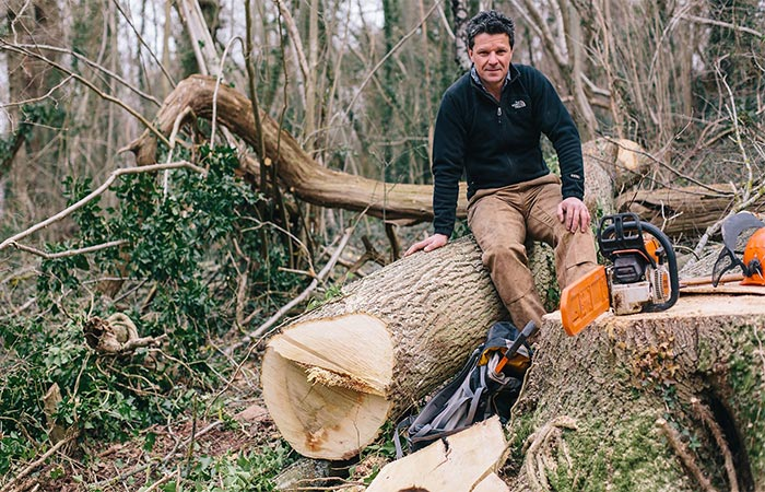 Robert Penn Sitting On a Tree