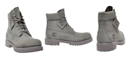 6 inch Mono Grey Boots | By Timberland