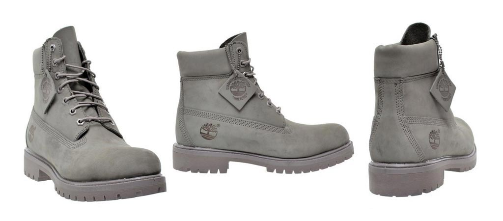 how to clean grey timberlands