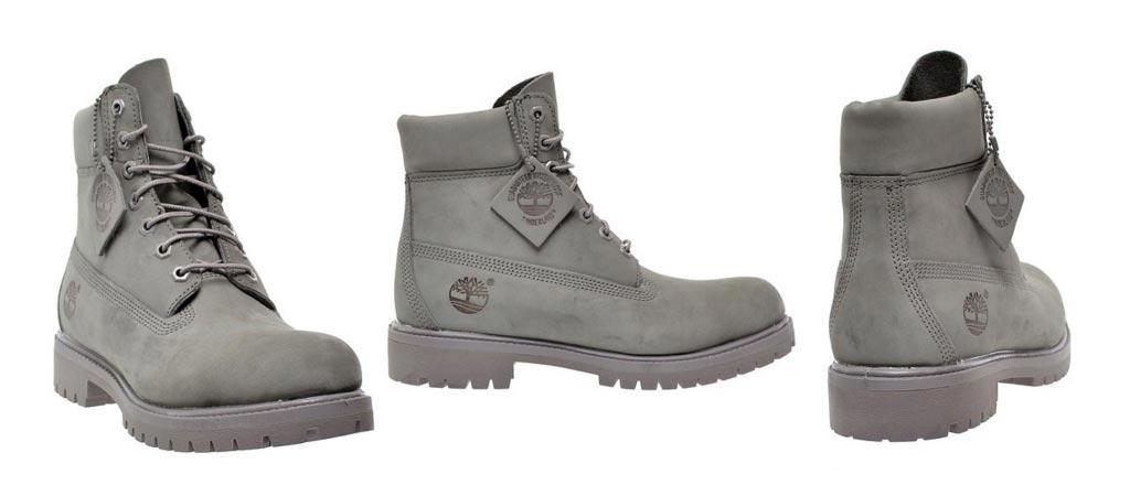 Timberland 6 inch Mono Grey Boots
