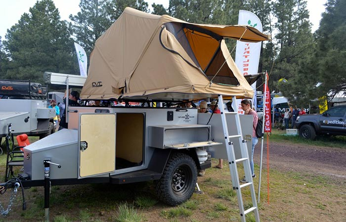 Turtleback Off Road Trailer