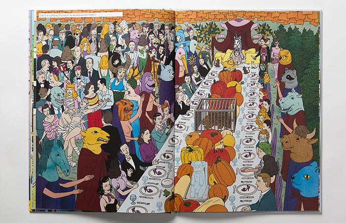 A Page From The Book Where's Warhol?