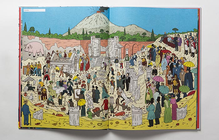 The Pompeii In The Book Where's Warhol?