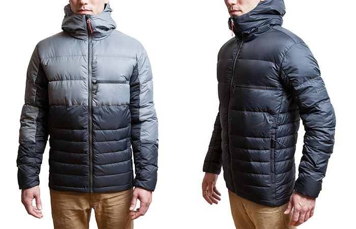 Hooded Down Jacket by Mountain Standard