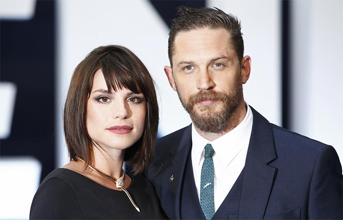 Tom Hardy with Charlotte Riley