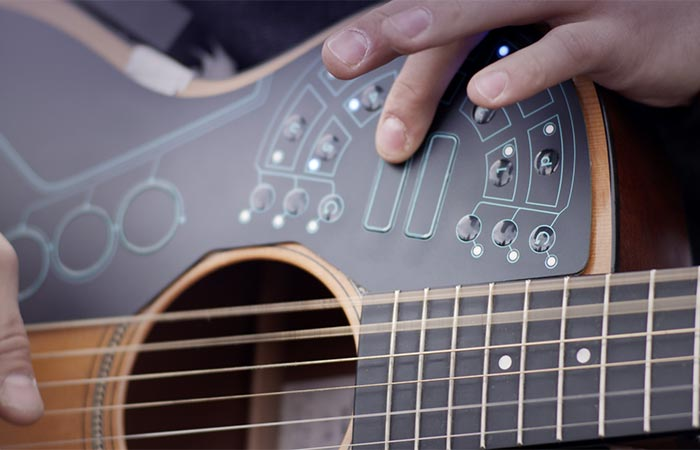 Playing Acoustic Guitar With ACPAD