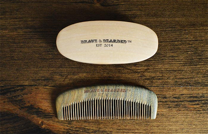Brave And Bearded Brush And Comb