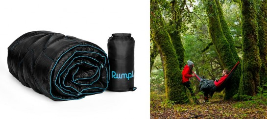 Down Puffy Outdoor Blanket   By Rumpl